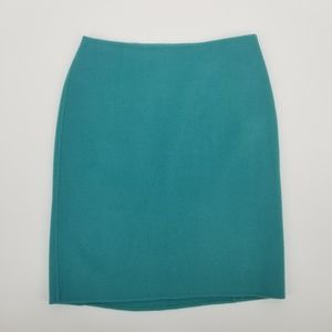 Talbots Double Faced Wool Pencil Skirt